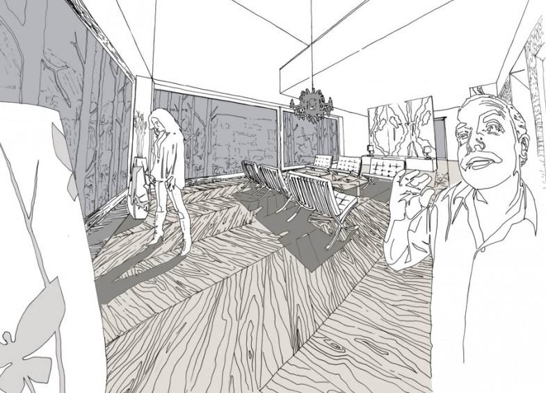01 interiér haly